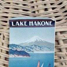Folletos de turismo: FOLLETO DE TUSRISMO LAKE HAKONE. 1936 W . Lote 101677975