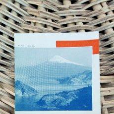 Folletos de turismo: FOLLETO DE TURISMO. HOW TO SEE IZU PENINSULA TOKYO. JAPON 1936 W . Lote 101678751