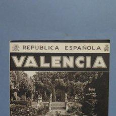 Folletos de turismo: VALENCIA. REPUBLICA ESPAÑOLA. PATRONATO NACIONAL TURISMO. Lote 102093387