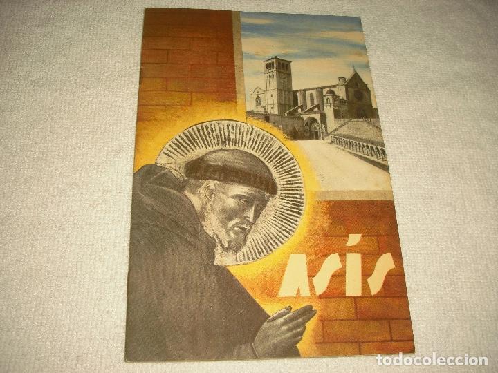 ASIS, CATALOGO TURISTICO 1937 . 32 PAG. MUY ILUSTRADO CON FOTOGRAFIAS . ENIT .EDICIONE SPAGNOLA (Coleccionismo - Folletos de Turismo)