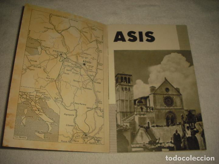 Folletos de turismo: ASIS, CATALOGO TURISTICO 1937 . 32 PAG. MUY ILUSTRADO CON FOTOGRAFIAS . ENIT .EDICIONE SPAGNOLA - Foto 2 - 102417507