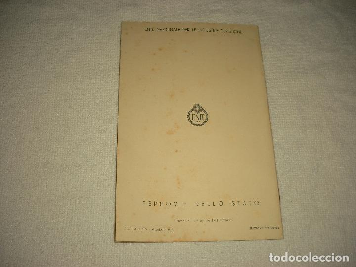 Folletos de turismo: ASIS, CATALOGO TURISTICO 1937 . 32 PAG. MUY ILUSTRADO CON FOTOGRAFIAS . ENIT .EDICIONE SPAGNOLA - Foto 3 - 102417507