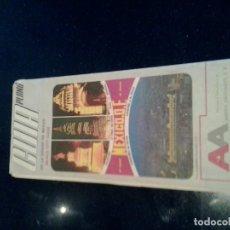 Folletos de turismo: GUIA PLANO MEXICO .D.F. Lote 103868115