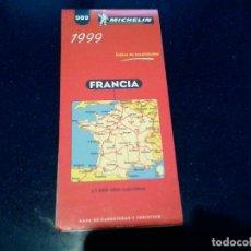 Folletos de turismo: GUIA MICHELIN PLANO DE FRANCIA. Lote 103880603
