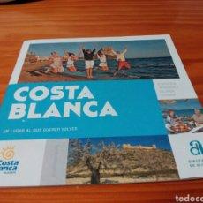 Folletos de turismo: FOLLETO COSTA BLANCA.. Lote 104524182
