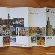 Folletos de turismo: FOLLETO TURÍSTICO 'SEVILLA'. Lote 105012667