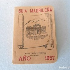 Folletos de turismo: ANTIGUO CALLEJERO DE MADRID 1957. Lote 105081843