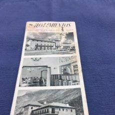 Folletos de turismo: FOLLETO DE ALOJAMIENTOS DE LA DIRECCIÓN GENERAL DE TURISMO - TODOS LOS PARADORES NACIONALES AÑOS 50. Lote 107588947