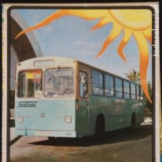 Folletos de turismo: FOLLETO AUTOBUSES (GUAGUA) SALCAI DE GRAN CANARIA: LINEAS, HORARIOS, MAPA, PLANO CALLEJERO. Lote 107738855