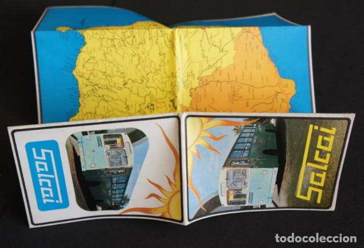 Folletos de turismo: Folleto autobuses (Guagua) Salcai de Gran Canaria: Lineas, horarios, mapa, plano callejero - Foto 3 - 107738855