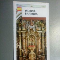 Folletos de turismo: FOLLETO MURCIA BARROCA TURISMO. Lote 107802054