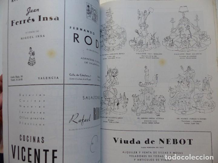 Folletos de turismo: LIBRO FALLERO - AÑO 1963 - FALLAS VALENCIA - Foto 4 - 108898083