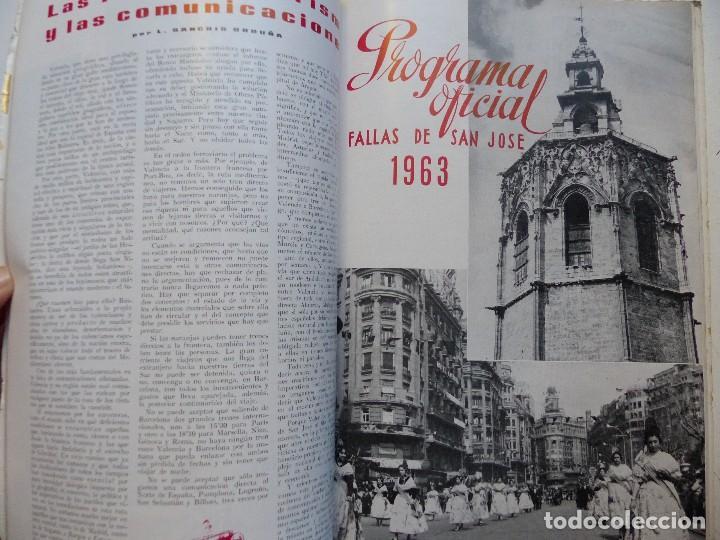 Folletos de turismo: LIBRO FALLERO - AÑO 1963 - FALLAS VALENCIA - Foto 6 - 108898083