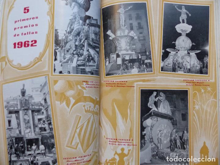 Folletos de turismo: LIBRO FALLERO - AÑO 1963 - FALLAS VALENCIA - Foto 8 - 108898083
