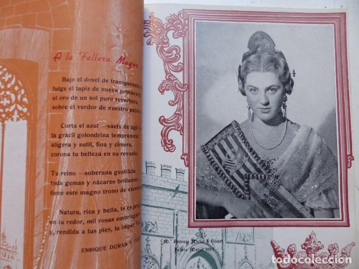 Folletos de turismo: LIBRO FALLERO - AÑO 1963 - FALLAS VALENCIA - Foto 16 - 108898083