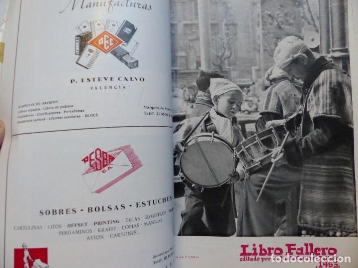 Folletos de turismo: LIBRO FALLERO - AÑO 1963 - FALLAS VALENCIA - Foto 20 - 108898083