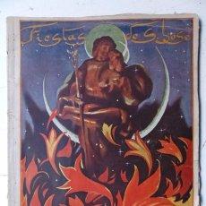 Folletos de turismo: VALENCIA FIESTAS DE SAN JOSE, ANIMOS - AÑO 1945 - PORTADA SEGRELLES, REVISTA JOVENES ACCION CATOLICA. Lote 108898607