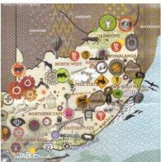 Folletos de turismo: FOLLETO TURÍSTICO SUDÁFRICA. MAPA COMPLETO - DISTANCIAS - INFORMACIÓN NECESARIA - CONSEJOS.. Lote 110630879
