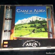 Folletos de turismo: CASAS ALDEA DEL PRINCIPADO DE ASTURIAS GUÍA MULTIMEDIA 1999 ARCA ASOCIACIÓN REGIONAL WINDOWS 95 98. Lote 111067767