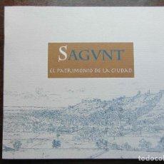 Folletos de turismo: SAGUNT. EL PATRIMONIO DE LA CIUDAD. SAGUNTO. Lote 113264011