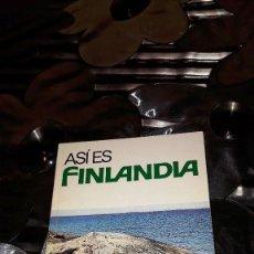 Folletos de turismo: FOLLETO DE TURISMO DE FINLANDIA - HELSINKI 1978. Lote 113433971