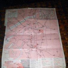 Folhetos de turismo: MAPA METRO OSAKA KYOTO EXPO70. Lote 113643935