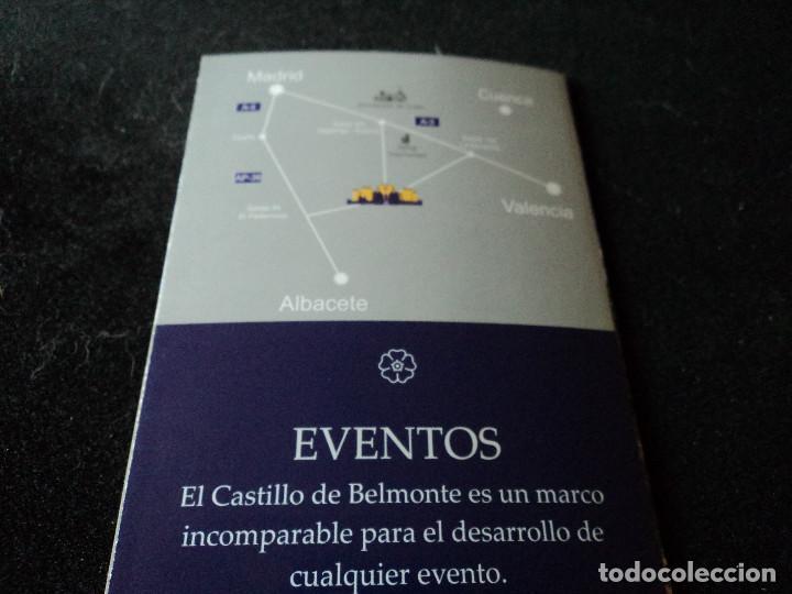 Folletos de turismo: triptico informativo del castillo de belmonte en cuenca - Foto 3 - 195458482