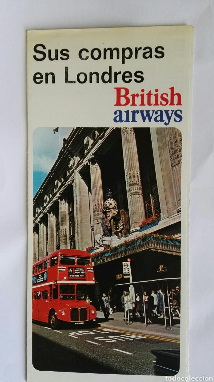 ANTIGUO FOLLETO THE BRITISH ISLES OXFORD AÑOS 70 (Coleccionismo - Folletos de Turismo)