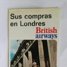 Folletos de turismo: ANTIGUO FOLLETO THE BRITISH ISLES OXFORD AÑOS 70. Lote 114094783