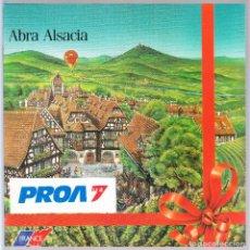 Folletos de turismo: REVISTA FOLLETO TURISMO - ALSACIA. Lote 114558547