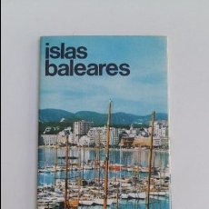 Folletos de turismo: FOLLETO TURISMO. ISLAS BALEARES. W. Lote 114974111