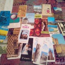 Folletos de turismo: LOTE ANTIGUOS FOLLETOS TURISTICOS ESPAÑA AÑOS 70. Lote 115110071