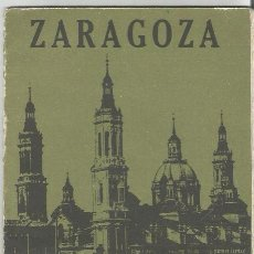 Folletos de turismo: GUIA DE ZARAGOZA 1967. Lote 115115087