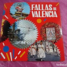 Folletos de turismo: DISCO VINILO FALLAS DE VALENCIA 1970. Lote 115337923