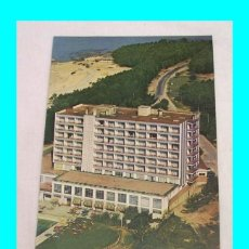 Folletos de turismo: HOTEL SAMIL PLAYA - VIGO - CIRCA 1970 - 1974 - A ESTRENAR - ILUSTRADO - PRECIOSO. Lote 115750519