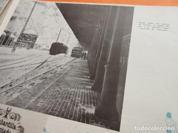 Folletos de turismo: ARTICULO 1945 - CANDANCHU UNA DE LAS MEJORES PISTAS ESQUI ESPAÑA CANFRANC ESTACION - Foto 2 - 116813655