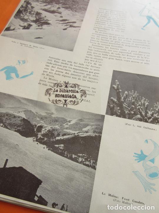 Folletos de turismo: ARTICULO 1945 - LA MOLINA Y NURIA PISTAS DE TONO INTERNACIONAL - Foto 2 - 116814903