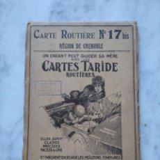 Folletos de turismo: CARTE ROUTIERE NUMERO 17. REGION DE GRENOBLE.. Lote 116817591