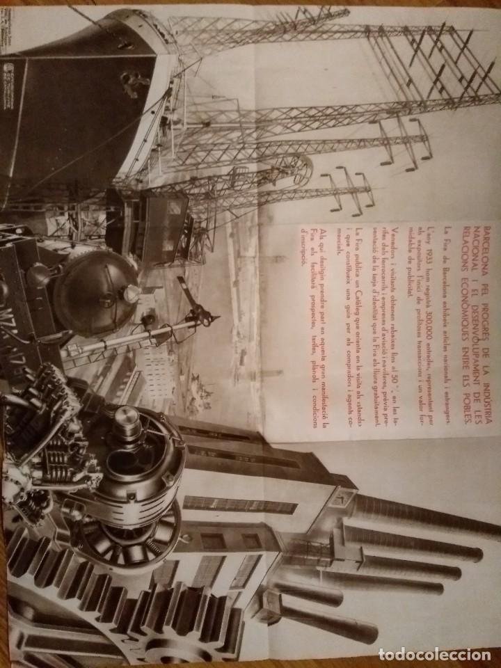 Folletos de turismo: FOLLETO VII FIRA BARCELONA 1934 - Foto 2 - 117250915