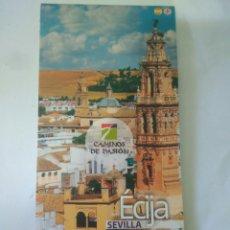 Folletos de turismo: CAMINOS DE PASION IMAGENES LUGARES .TURISMO ANDALUZ ECIJA.SEVILLA. Lote 117267668