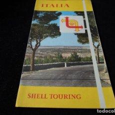 Folletos de turismo: MAPA ITALIA TOURING SHELL 1961. Lote 117339307