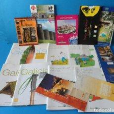 Folletos de turismo: VARIADO LOTE DE FOLLETOS DE TURISMO Y SENDERISMO DE ASTURIAS Y GALICIA - CAMINO DE SANTIAGO. Lote 117435099