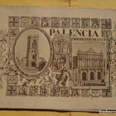Folletos de turismo: ANTIGUO ALBUM FOTOGRAFICO DE PALENCIA Y PROVINCIA. Lote 117718231