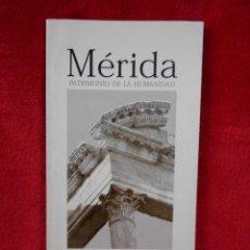 Folletos de turismo: ENTRADA MÉRIDA CONSORCIO CIUDAD MONUMENTAL HISTÓRICO-ARTISTICA, 1999. Lote 117910487