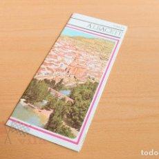 Folletos de turismo: FOLLETO - ALBACETE - AÑOS 60. Lote 118497583