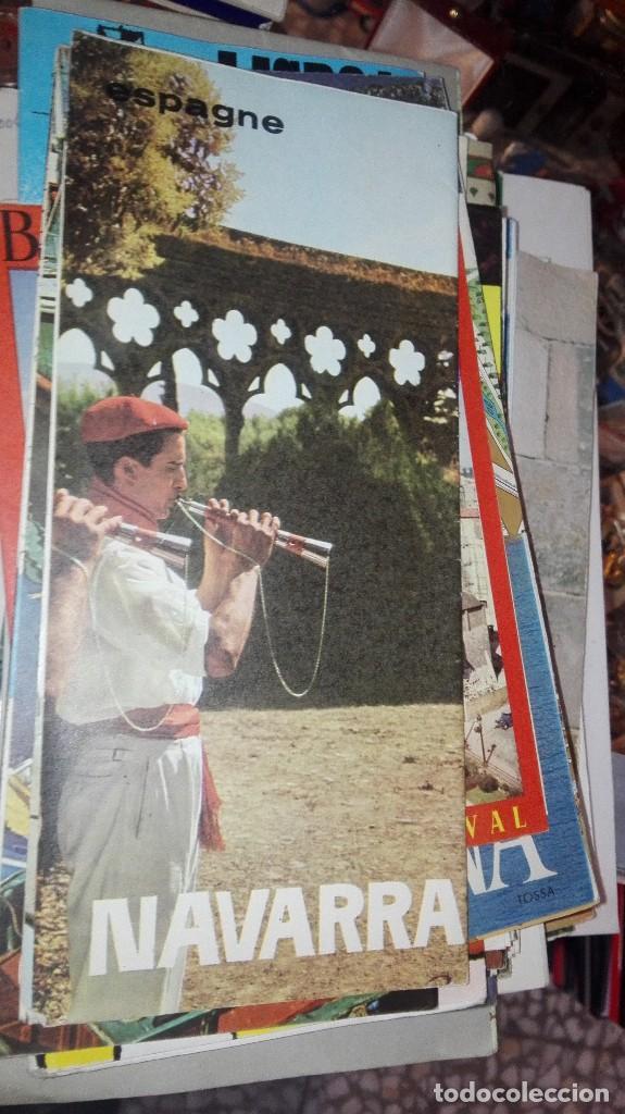NAVARRA (Coleccionismo - Folletos de Turismo)