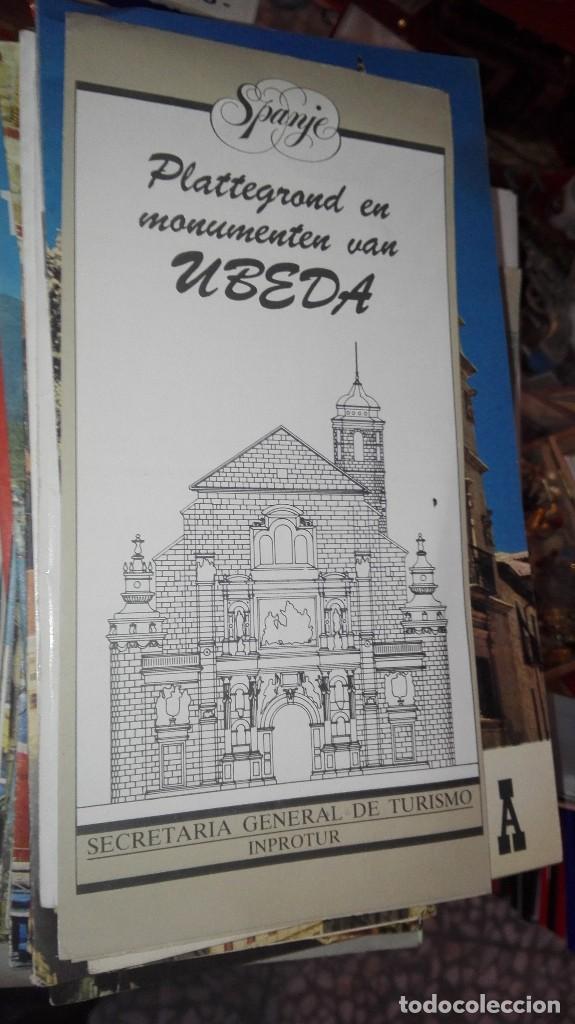 UBEDA (Coleccionismo - Folletos de Turismo)