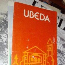 Folletos de turismo: UBEDA. Lote 118527139