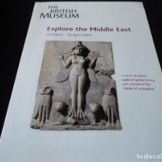 Folletos de turismo: THE BRITISH MUSEUM 2004. Lote 118614527