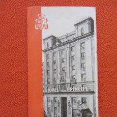 Folletos de turismo: HOTEL PRINCIPE. BARCELONA. TRIPTICO. AÑOS 40. Lote 118747879